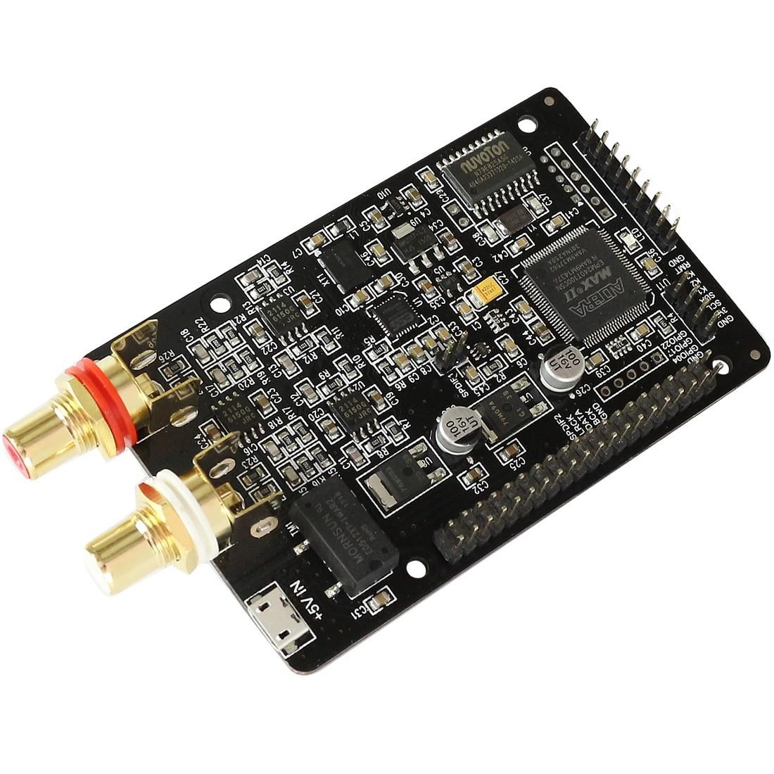AUDIOPHONICS I-Sabre DAC ES9028Q2M KALI EDITION Raspberry Pi 3 / 2 / I2S