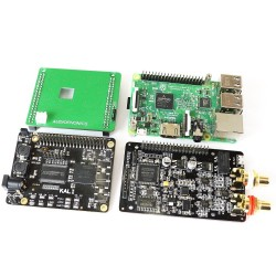 AUDIOPHONICS DAC I-Sabre ES9028Q2M KALI EDITION Raspberry Pi 3, Pi 2 / I2S