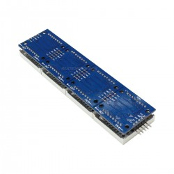 Module Afficheur LED à Grille Matriciel 8x32 256 LED Programmable Rouge