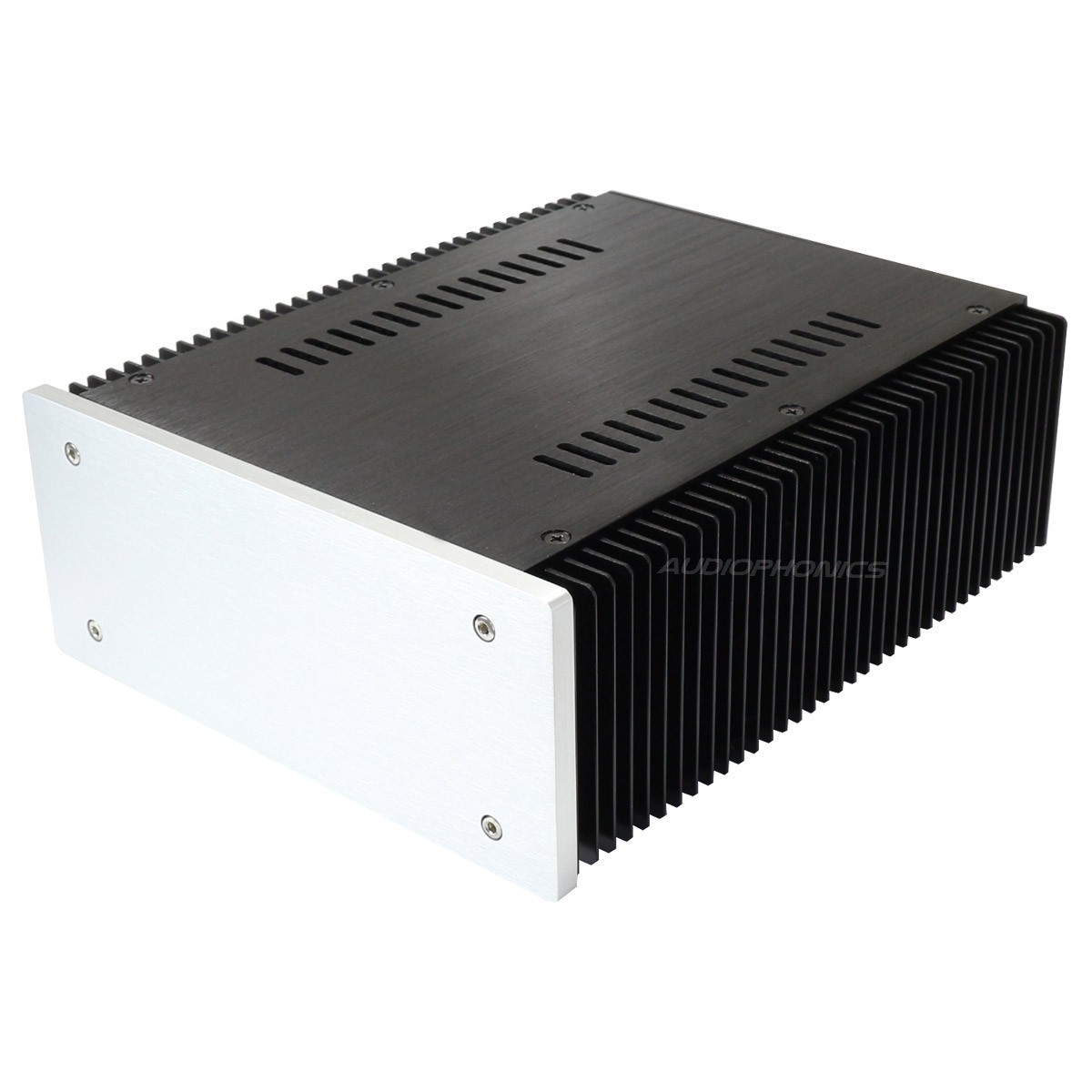 DIY Box / Case 100% Aluminium with heatsink 257x211x90mm