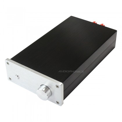 Power Amplifier DIY Case Aluminium 154x60x261mm Black / Silver