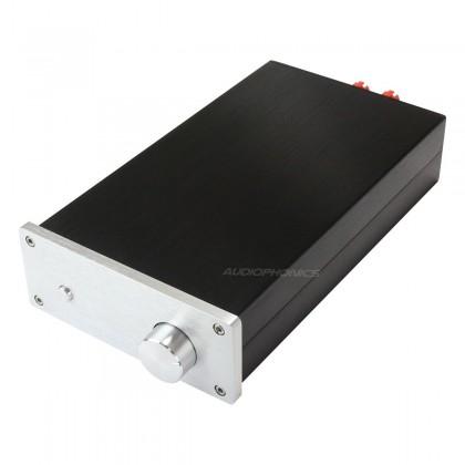 Power Amplifier DIY Case Aluminium 154x60x261mm Black / Silver