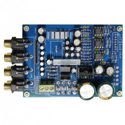Volume control preamplifier 5.1 input / 5.1 output