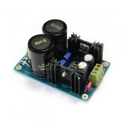 Dual Reguled Linear Power Supply Board LM317/337 + TL431 +/- 3.3V to 37V 1.5A