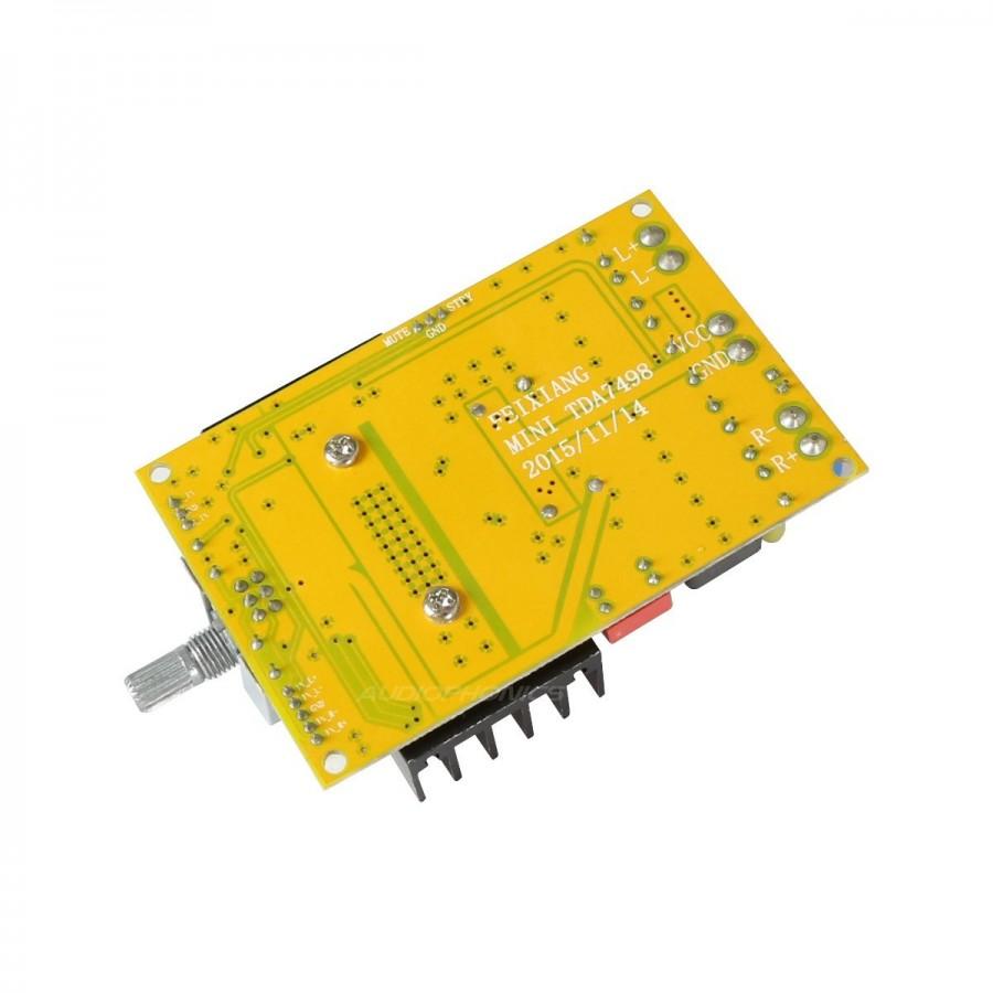Fx Audio M Diy Mini7498 Class D Amplifier Module Tda7498 2x100w 8 Semiconductor Datasheets Subwoofer Crossover Ohm