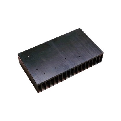 Radiateur de Dissipation Thermique Aluminium Anodisé Noir