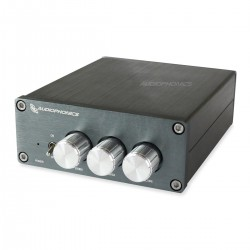 AUDIOPHONICS TPA-SW25 Amplificateur 2.1 Class D TPA3116D2 2x 50W + 100W 4 Ohm Argent