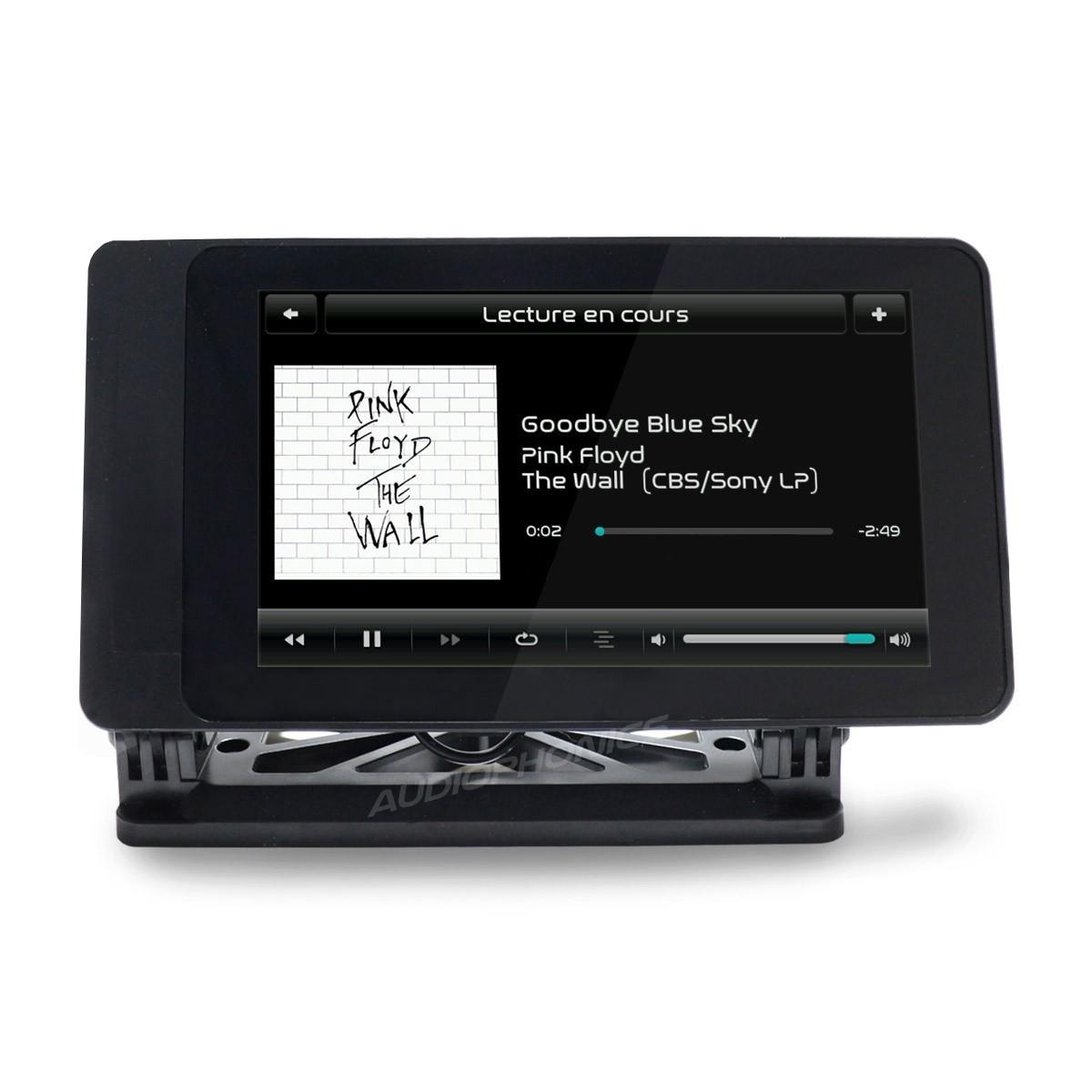 RaspTouch LTE I-Sabre V2 - Lecteur réseau tactile Raspberry Pi & DAC ES9023