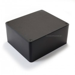 Boîtier Capot pour Transformateur Torique Aluminium 160x140x75mm