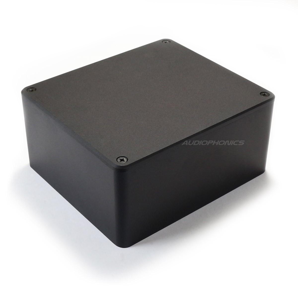 """Boitier Aluminium """"Capot"""" pour transformateur torique 160x140x75mm"""