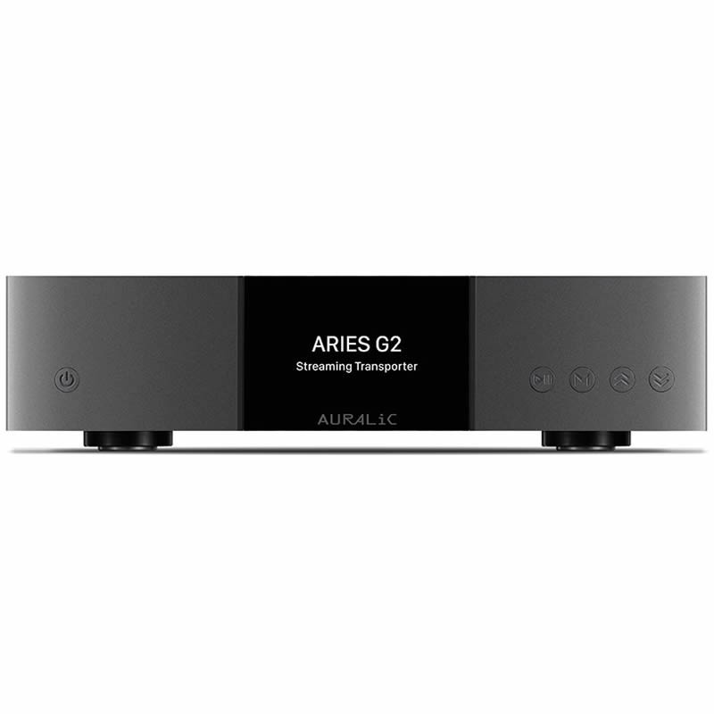 AURALiC Aries G2 Hi-Fi Streamer 32bit 384Khz AES/EBU Femtoclock