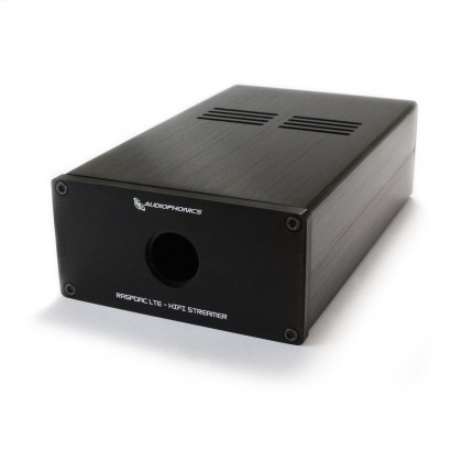 Boitier Aluminium pour Raspberry Pi 3 / I-DAC pour lecteur réseau audio