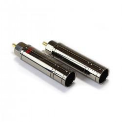 NEOTECH NER-OCC GD Connecteurs RCA Cuivre Pur Plaqué Or Ø10.5mm (Set x4)