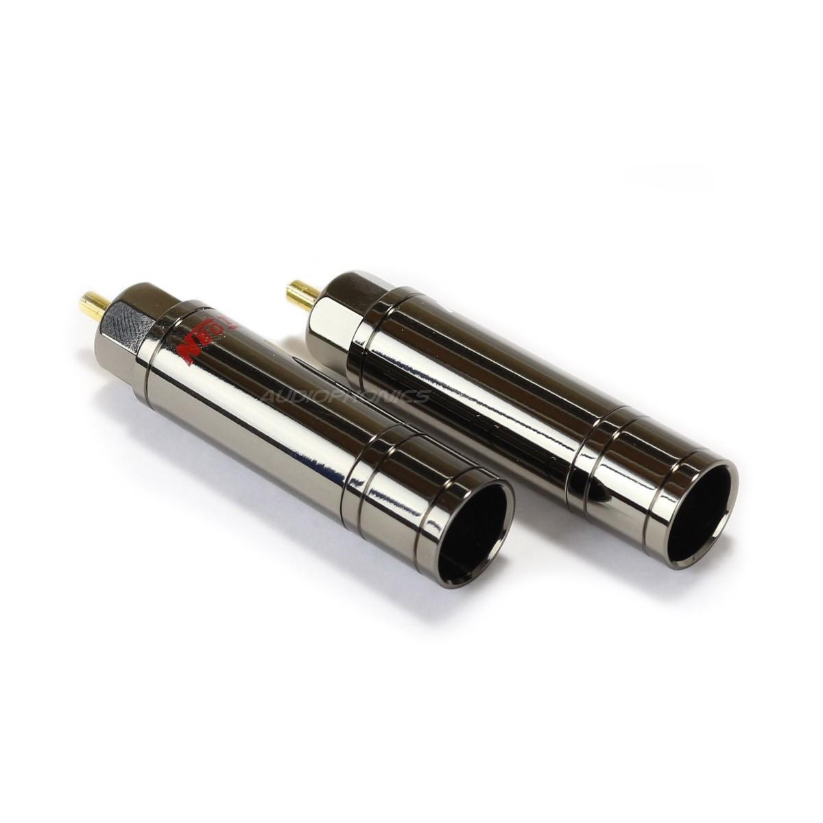 NEOTECH NER-OCC GD Connecteurs RCA Cuivre Pur Plaqué Or Ø10.5mm (La paire)