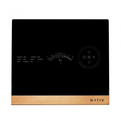 NATIV WAVE - DAC Symétrique 2x PCM1792A 24bit / 192kHz DSD256 DXD Érable
