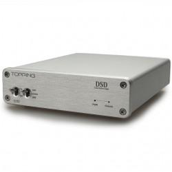 TOPPING D30 USB DAC 24bit/192kHz DSD 128 XMOS CS4398 Silver