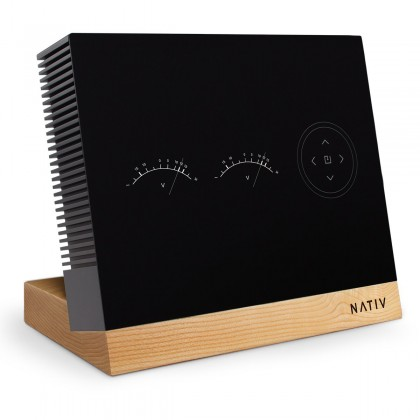 NATIV PULSE - Linear Regulated Power Supply for NATIV VITA and WAVE Walnut Stand