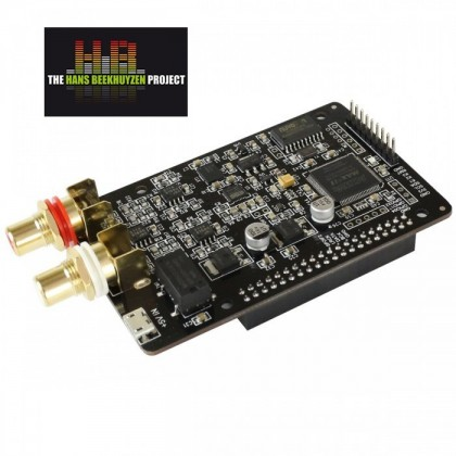 AUDIOPHONICS DAC I-Sabre ES9028Q2M Raspberry Pi 3, Pi 2, A+, B+ / SPDIF & I2S