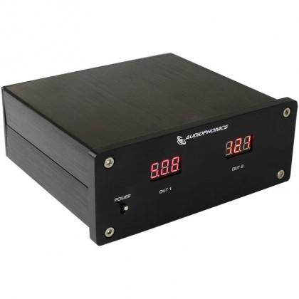 Regulated double linear power supply 5V / 12V 30W T-Amp V-DAC2 LT1317