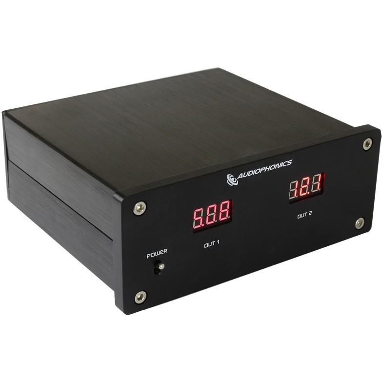 AUDIOPHONICS Double Regulated Linear Power Supply 5V / 12V 30W T-Amp V-DAC2 LT1085