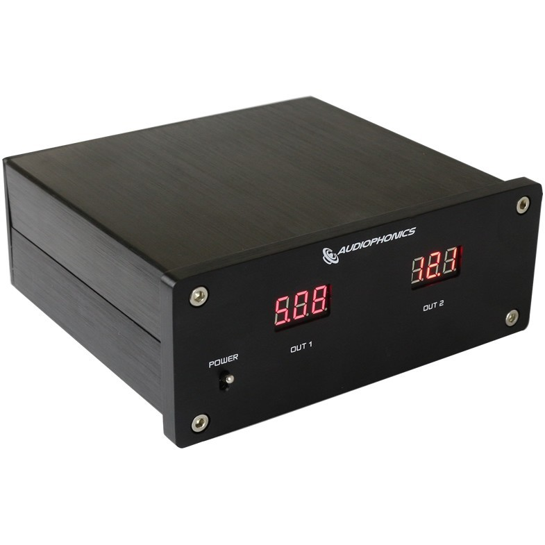 Double Regulated Linear Power Supply 5V / 12V 30W T-Amp V-DAC2 LT1086