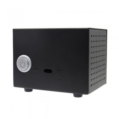 Metal Case with Button for Raspberry Pi and ST6000 / ST6000K / ST800 DAC