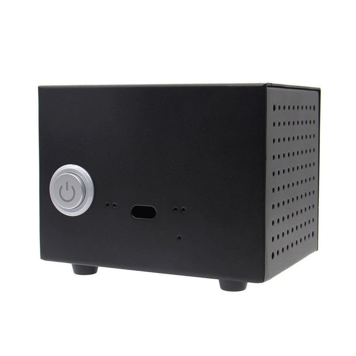 avis bo tier m tal avec bouton pour raspberry pi et dac st6000 st6000k st800. Black Bedroom Furniture Sets. Home Design Ideas