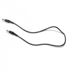 Male Jack DC to Male Jack DC Cable 5.5/2.5mm 0.5m