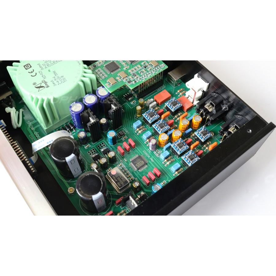 USB BALANCED DAC ES9028 PRO XLR 32bit/384kHz DSD 512 AMANERO TCXO