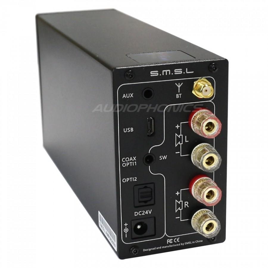 SMSL AD18 V3 Digital Amplifier NFC TAS5342A 2x 40W + Subwoofer out ...