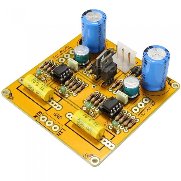 Module Kit unbalanced to balanced symetrizer NE5532 BTL stereo