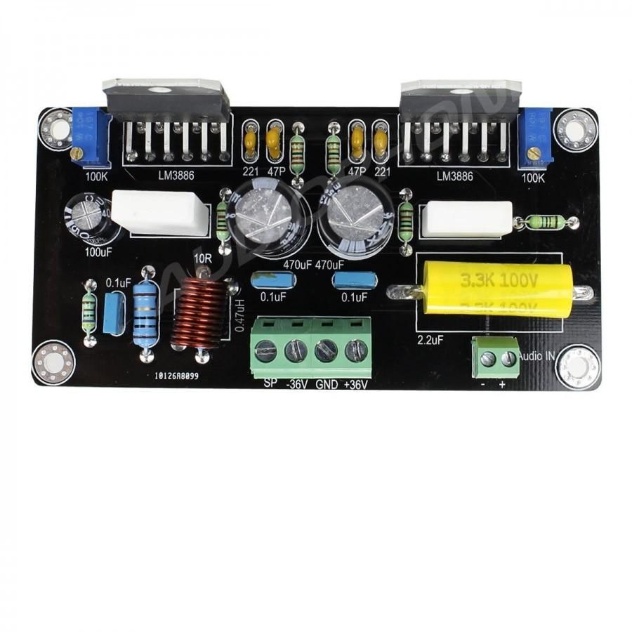 AUDIOPHONICS APD85 Amplifier Module Mono LM3886 100W / 8 Ohms