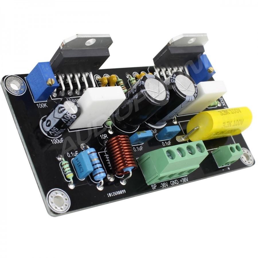 Audiophonics Apd85 Amplifier Module Mono Lm3886 100w 8 Ohms High Performance Audio Power Board