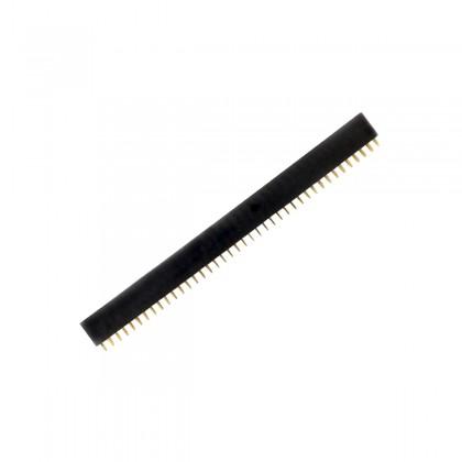 Barrette à broches femelle/mâle 2X40 écartement 2.54mm