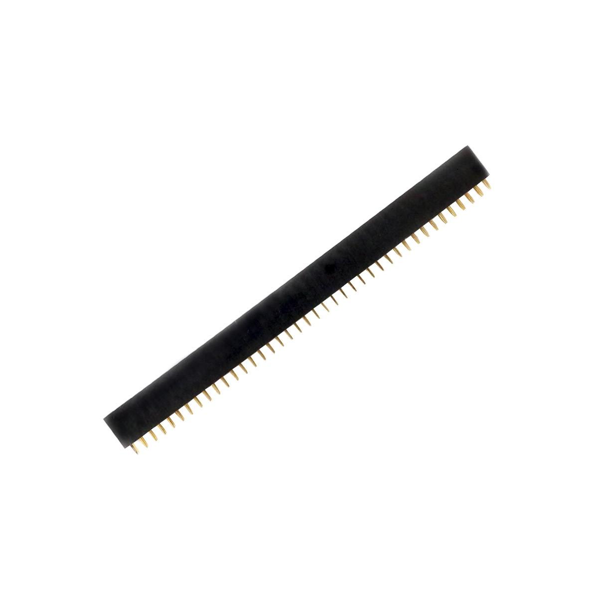 Connecteur Barrette 2.54mm Mâle / Femelle 2x40 Pôles 3mm (Unité)