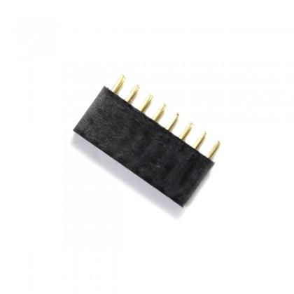 Connecteur Barrette Droit Femelle / Mâle 2X8 Pins Écartement 2.54mm