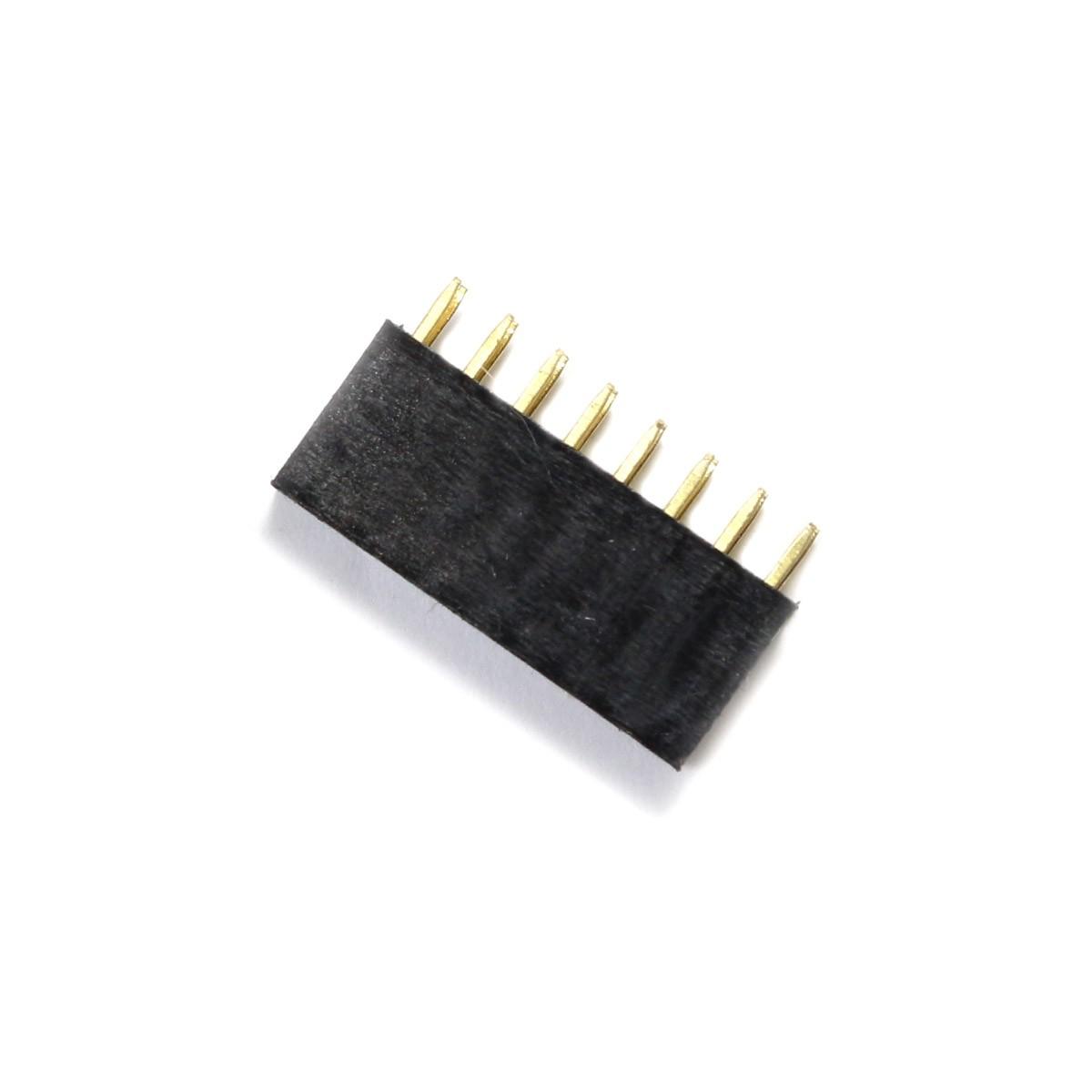 2.54mm Male / Female Pin Header 2x8 Pins 3mm (Unit)