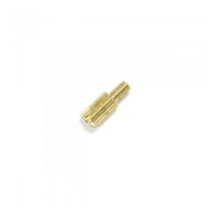 Entretoise Laiton M2 x 5mm Mâle / Femelle (x10)