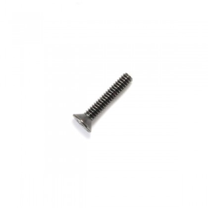 Hexagon Socket Countersunk Head Screw M2x6mm 10.9 Steel Black (x10)