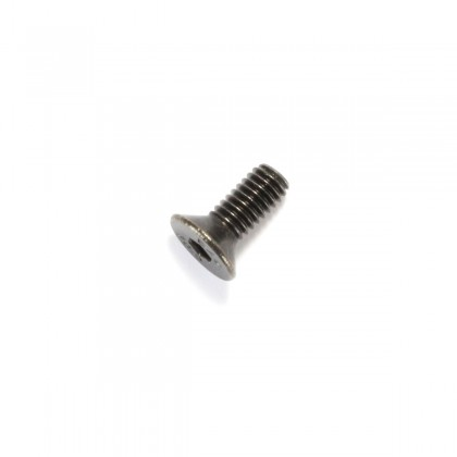 Hexagon Socket Countersunk Head Screw M4x10mm 10.9 Steel Black (x10)