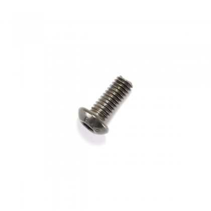 Hexagon Socket Round Head Screw M4x10mm 10.9 Steel Black (x10)
