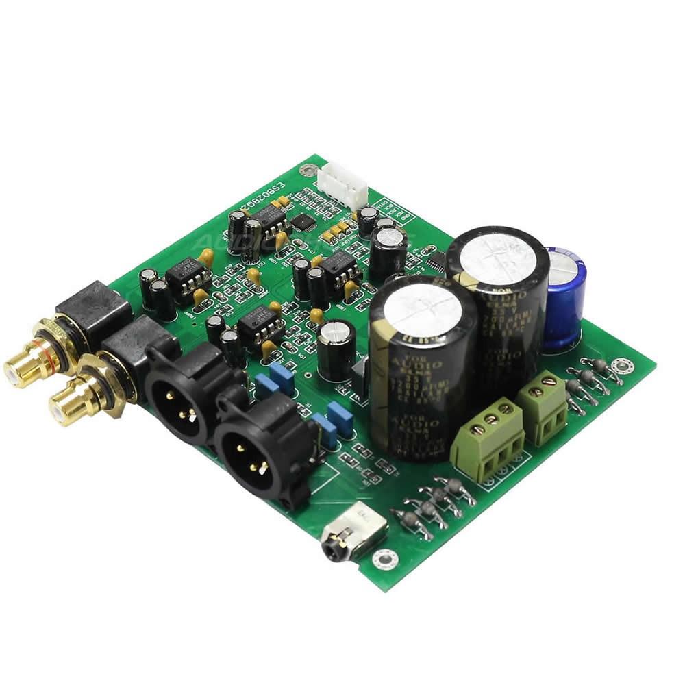 ESS ES9028Q2M I2S DAC Module Board 32bit 384khz Balanced DSD 1x LT1963 Regulators