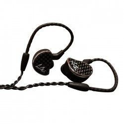 SHOZY HIBIKI Écouteurs Intra-Auriculaires Haute Définition Diaphragmes 10mm 18 Ohm