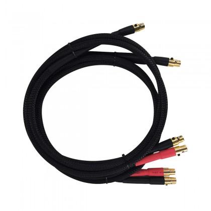AUDIO-GD BRIDGE ACSS Câble 1x ACSS vers 2x ACSS pour Precision 3 1m Noir