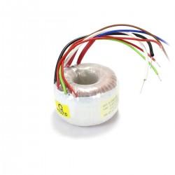 Transformateur torique 20VA 6V 1.67A / 15-0-15V 0.34A