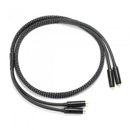 MOGAMI 2549 Stereo RCA Interconnect Cable Puresonic Tellurium Copper 1.2m