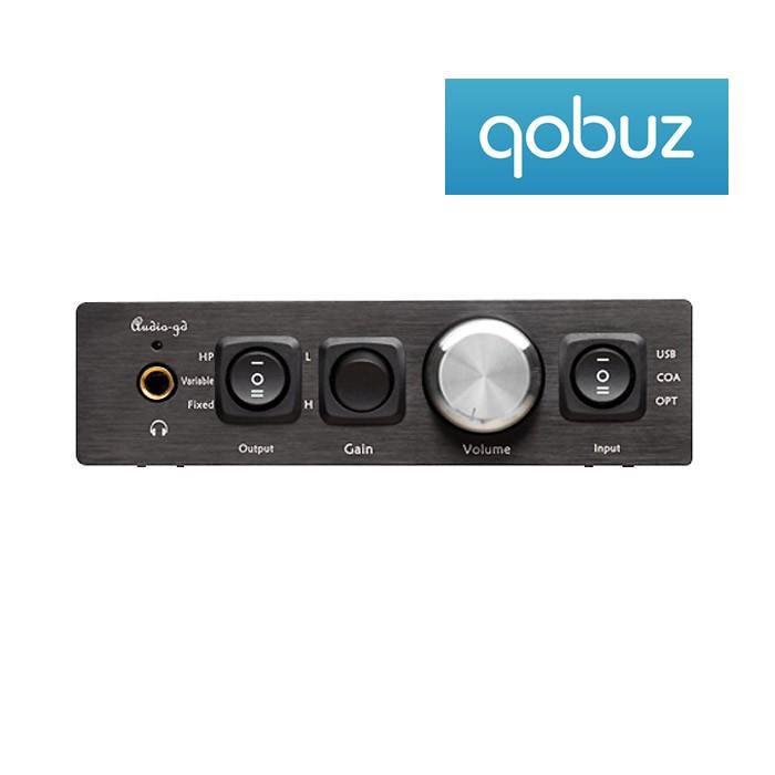 AUDIO-GD NFB-11.28 MUSIC EDITION DAC ES9028PRO / Préampli / Ampli casque DSD 32bit / 384kHz TCXO