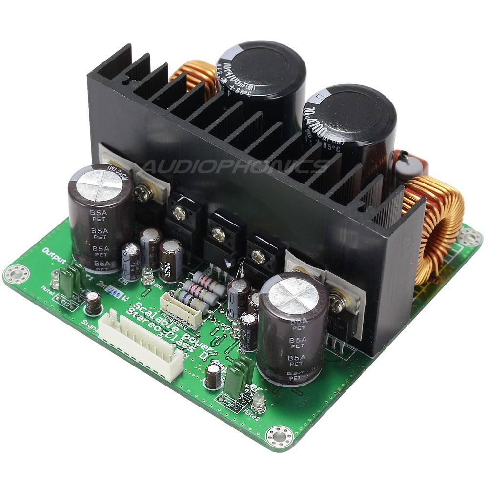 IRS2092 Amplificateur Stéréo Class D 2x 400W 4 ohms