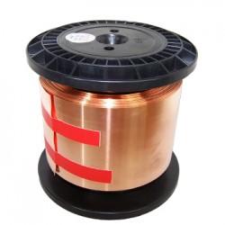 MUNDORF MCONNECT Fil de Câblage Plat Feuille de Cuivre 70x0.07mm 4.9mm²
