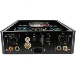 AUDIO-GD R2R 2 DAC DSP FPGA USB AMANERO LVDS HDMI I2S INPUT 24bit 384KhzTCXO